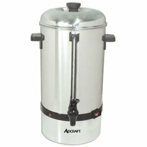 New 100 Cup Coffee Percolator Commercial Adcraft Cp 100 6314 Bulk Machine Hot