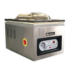New Vacuum Sealer Packaging Machine Adcraft Vs 300 6318 Commercial Meat Food