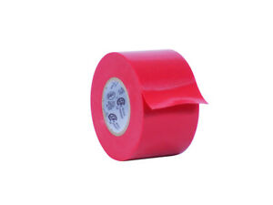 Wod Professional Grade Red Vinyl Pvc Electrical Tape 2 X 66 pack Of 10