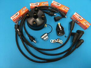 Ford Naa 600 601 800 801 900 Tractor Tune Up Kit Wires Plugs Points Cap Rotor
