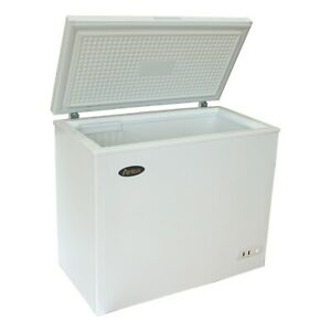 New 50 Flip Top Chest Freezer 9 6 Cubic Feet Atosa Mwf 9010 6051 Commercial Nsf