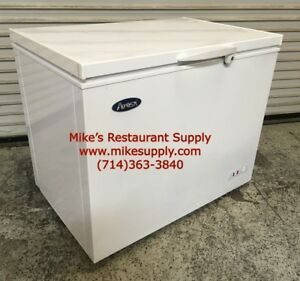 New 60 Chest Freezer Flip Top 15 9 Cubic Feet Atosa Mwf 9016 6053 Commercial