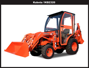 Complete Curtis Soft Side Deluxe Cab For Kubota B2320 B2620 B2920 1kb2320
