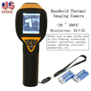Ht 175 Infrared Thermal Camera Temperature 20 To 300 Degree Imaging 32x32 Us