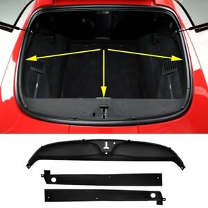 C4 Corvette Rear Deck Trim 3 Piece Kit Fits 84 96 Coupe Corvettes