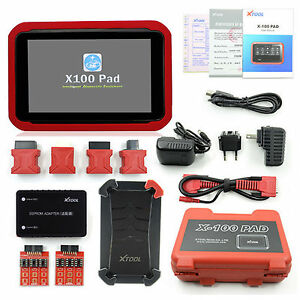 Xtool X100 Pad Tablet Pro Grammer Obd2odometer Correction Eeprom Diagnostic Tool