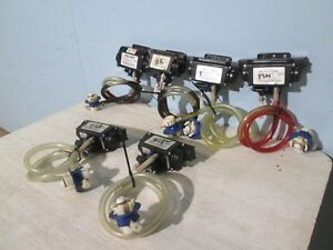 Lot Of 6 flojet H d nsf Commercial Post Mix Syrup Pumps W accessories