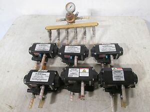 Lot Of 6 flojet Heavy Duty Commercial Post Mix Syrup Pumps air co2 nsf