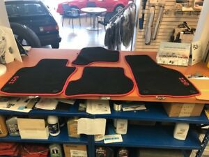 2006 2014 Vw Volkswagen Gti Carpeted Set Of 4 Front Rear Floor Mats Round Clip