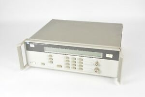 Agilent 5351b Microwave Frequency Counter 500mhz 26 5ghz Includes Option 010