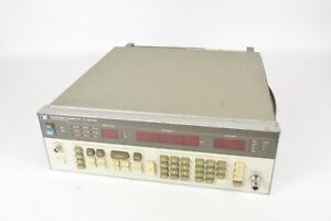Hp Agilent Keysight 8656b Synthesized Signal Generator 0 1 990mhz
