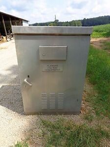 Large Rain Tight Electrical Cabinet Outdoor Traffic Control Cabinet Rain Tight