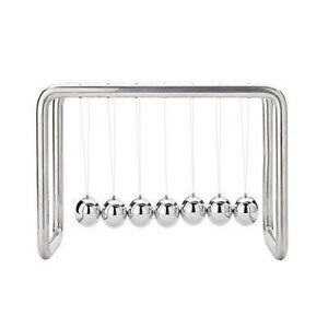 Newtons Cradle 7 Balls Stainless Steel Strings Upgraded Version Home Decoration