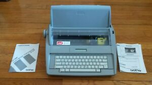 Brother Sx 4000 Electronic Lcd Display Typewriter With Dictionary Never Used New