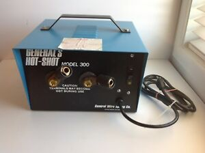 General s Hot Shot 300 Pipe Thawer Thawing Machine Lightly Used Usa Made