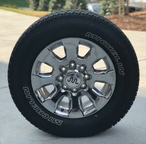 4 2017 2018 Ford F250 20 King Ranch Wheels And Michelin Tires Bb226j