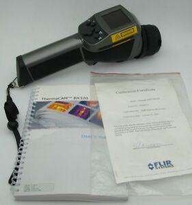 Flir Thermacam Bx320 With Paperwork manual No Battery