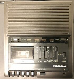 Panasonic Rr 930 Microcassette Transcriber Recorder Tested Working