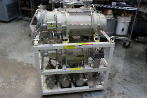 3684 Ebara 50x20 Dry Vacuum Pump Package