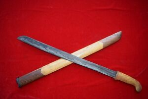 Old Pedang Sabet Slashing Sword Mataram Banyu No Keris Curious Sword Of Java