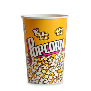 Popcorn Cup 46 Oz 500 cs Fast Shipping