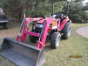 2012 Mahindra 4010 Hst 4wd Tractor With Loader Bucket