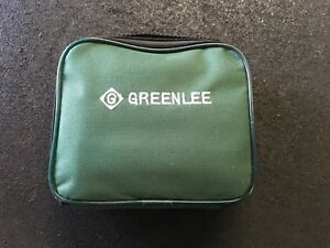 Greenlee Dm 20 Digital Multimeter With Gt 10 Circuit Tester Case
