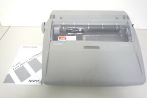 Brother Sx 4000 Daisy Wheel Electronic Portable Typewriter