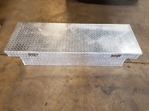 Truck Bed Aluminum Tool Box Storage Full Size