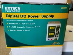 Extech Digital Dc Power Supply