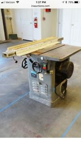Delta Rockwell 10 34 466 Table Saw 3 Hp 3 Phases