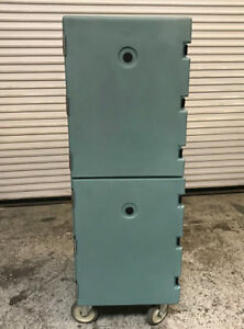 Double Insulated Food Pan Carrier Cart Cabinet Cambro 1826dbc 7460 Commercial