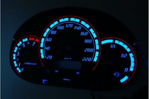Ford Street Ka Glow Gauges Dials Plasma Dials Kit Tacho Glow Dash Shift Indiglo