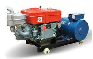 Brand New 20000w 20kw 1 Phase Diesel Powered Generator Free Ship To Worldwide