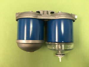 Oliver Tractor Dual Fuel Filter Assembly 1650 1655 1750 1755 1850 1855 162512as