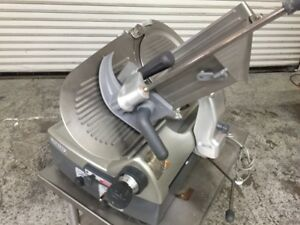 12 Meat Cheese Automatic Slicer Oem Sharpener Hobart 2912 8080 Commercial
