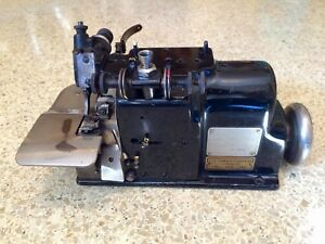 Merrow Overlock Serger Sewing Machine Model A 3dw Industrial Made In Usa