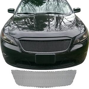 Ccg Gloss Black Grill Mesh Piece Insert For A 2010 2012 Ford Taurus Grille