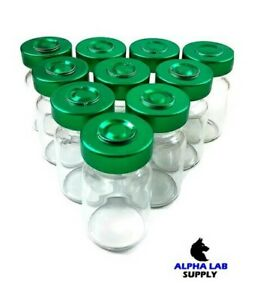 5ml Sterile Clear Glass Vials 25 Pack Free Shipping