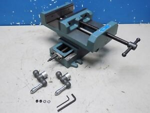 Wilton Cross Slide Drill Press Vise 8 Jaw Width 8 Opening Capacity 11698