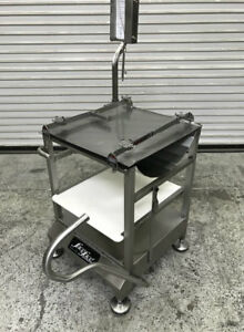 Slicer Cart Rolling With Mounting System Face To Face Deli Buddy 8084 Food Prep