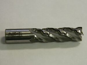 Wavcut I Cobalt Roughing End Mill 1 25 Dia 1 25 Shank Dia 4fl 4 Loc 621w32079