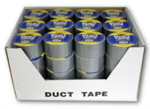 Silver Duct Tape 1 89 X 10 Yards Case Pack 48