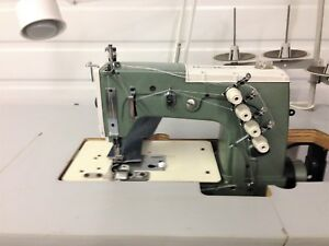 Kansai Dlr 1502 Vhd 2 Needle Lap Seam never Used Industrial Sewing Machine