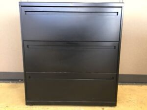 3 drawer Lateral File Cabinets By Allsteel Office Furniture With Lock