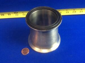 Sanitary Stainless Steel 3 X 2 1 2 X 3 Tri clamp Concentric Reducer