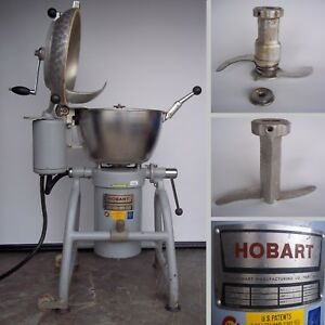 Nice Hobart Vcm 25 Cutter Mixer Pizza Dough Processor Little Brother To Vcm 40