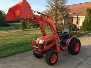 Kubota B2320 Compact Tractor With La304 Loader Very Nice Low Hours Hydrostat