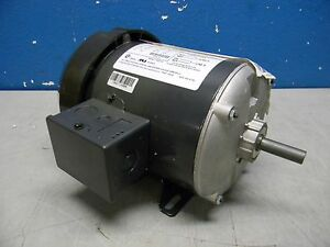 Us Motors 1 3 Hp Single Split Phase Electric Motor 115v 1 2 X 1 1 2 t13b1n4