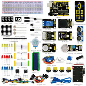 Keyestudio Advanced Starter Learning Kit For Arduino With Uno R3 Manual Pdf